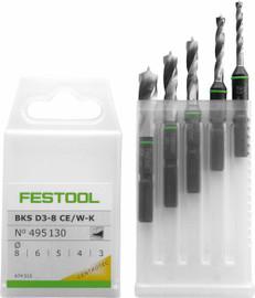 Festool Bit Set BKS D 3-8 CE/W-K