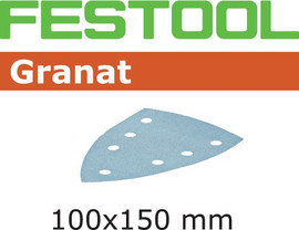 Festool Grit Abrasives STF DELTA/7 P60 GR/50 Granat