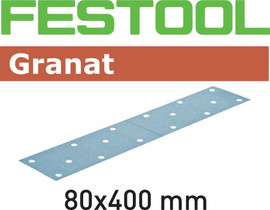 Festool Grit Abrasives STF 80x400 P180 GR/50 Granat