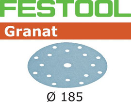 Festool Grit Abrasives STF D185/16 P40 GR/50 Granat