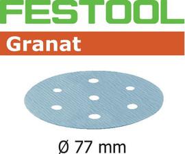 Festool Grit Abrasives STF D77/6 P500 GR/50 Granat