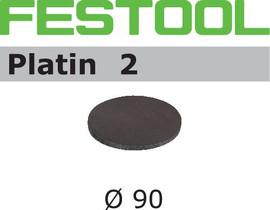Festool Grit Abrasives STF D90/0 S500 PL2/15 Platin 2