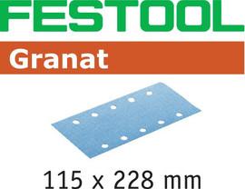 Festool Grit Abrasives STF 115X228 P80 GR/50 Granat