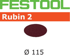Festool Grit Abrasives STF D115 P100 RU2/50 Rubin 2