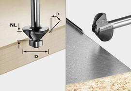 Festool Chamfer cutter S8 HW 45° D26-KL OFK