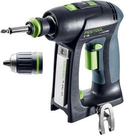 Festool Cordless Drill C 18 Li-Basic