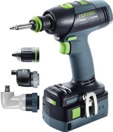 Festool Cordless Drill T 18+3 Li 5,2-Set