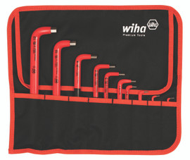 Wiha 13693 - Insulated Hex Metric 10 Pc. L-Key Set