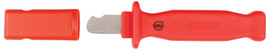 Wiha 15050 - Insulated Cable Stripping Knife 35mm