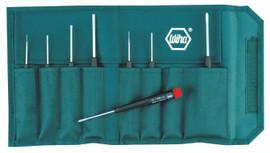 Wiha 26199 - Precision Slotted & Phillips 8 Pc. Set