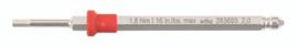 Wiha 28362 - TorqueFix Hex Metric Blade 2.0mm