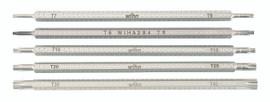 Wiha 28485 - Drive-Loc VI Torx® Blade 5 Pc Set