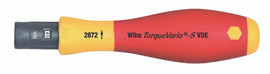 Wiha 28752 - Insulated TorqueVario-S Handle In/lbs