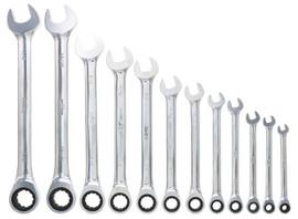 "Wiha 30334 - Combination Ratchet Wrench 11/16"""