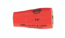 "Wiha 31330 - Insulated Socket 1/4"" Drive 9mm"
