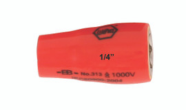 "Wiha 31335 - Insulated Socket 1/4"" Drive 14mm"