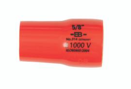 "Wiha 31434 - Insulated Socket 3/8"" Drive 9/16"""