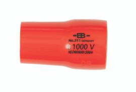 "Wiha 31513 - Insulated Socket 3/8"" Drive 13mm"