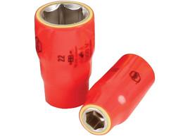 "Wiha 31610 - Insulated Socket 1/2"" Drive 10mm"