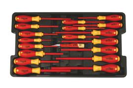 Wiha 32095 - Insulated Screwdriver Tray 19 Pc. Set