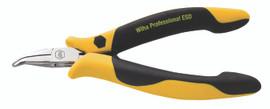 Wiha 32744 - ESD Prec Snipe (Chain) Bent Nose Pliers