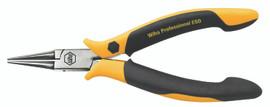 Wiha 32750 - ESD Prec Short Round Nose Pliers