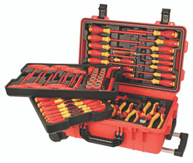 Wiha 32800 - Insulated 80 Pc Set In Rolling Tool Case