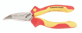 "Wiha 32807 - Insulated Bent Nose Pliers 6.3"""