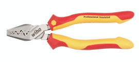 """Wiha 32841 - Insulated Crimping Pliers 7.0"""""""