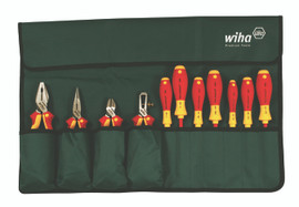 Wiha 32986 - Insulated Industrial Pliers/Drivers Set