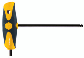 """Wiha 33424 - Soft Grip Hex Inch T-handle 1/8"""""""