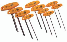 Wiha 33492 - Hex Inch T-Handle 10 Pc. Set