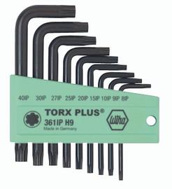 Wiha 36199 - TorxPlus® L-Key Short Arm 9 Pc. Set