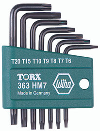 Wiha 36392 - Torx® L-Key Short Arm 7 Pc. Set
