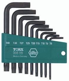 Wiha 36394 - Torx® L-Key Short Arm 9 Pc. Set