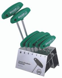 Wiha 36490 - Torx® T-Handle 7 Pc. Set In Stand
