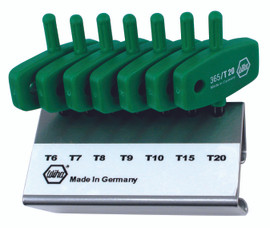 Wiha 36590 - Torx® Wing Handle 7 Pc. Set In Stand