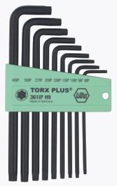 Wiha 36691 - TorxPlus® L-Key Long Arm 9 Pc. Set