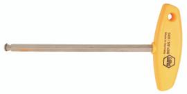 """Wiha 54018 - MagicRing® Ball End Hex T-handle 1/4"""""""