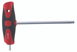 Wiha 54042 - Soft Grip Dual Drive Hex T-handle 4.0mm