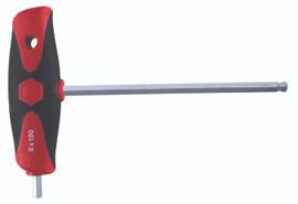 Wiha 54088 - Soft Grip Dual Drive Hex T-handle 10mm