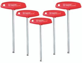 Wiha 54090 - MagicRing® Ball End T-Handle 5 Pc Set