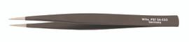 Wiha 55533 - ESD Safe Tweezers PSF SA-ESD S - 125mm