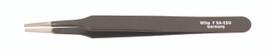 Wiha 55534 - ESD Safe Tweezers F SA - 120mm