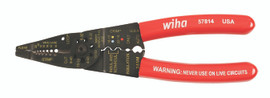 """Wiha 57814 - Wire Combo Strippers/Crimpers 8.25"""""""
