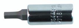 Wiha 71372 - Hex Inch Bit Socket 1/4 Sq Drive 3/32