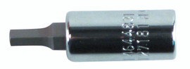 Wiha 71380 - Hex Inch Bit Socket 1/4 Sq Drive 5/32