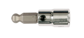 Wiha 71763 - Ball End Hex Bit Socket 1/4 Sq Drive 1/8