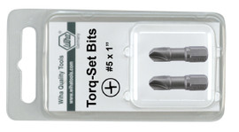 Wiha 71912 - Torq-Set Insert Bit #5 x 25mm 2Pk