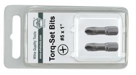 Wiha 71958 - Torq-Set Insert Bit #8 x 25mm 2Pk